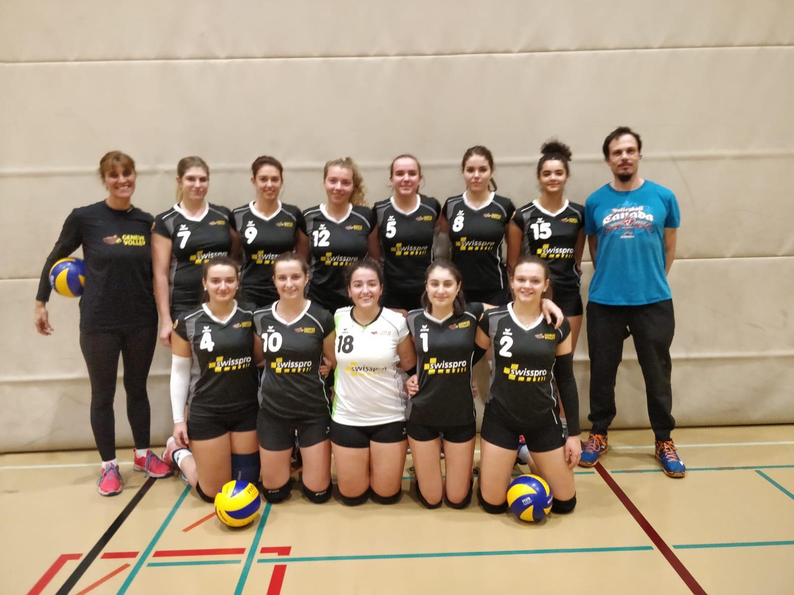 Genève Volley III en finale de la Coupe Genevoise !