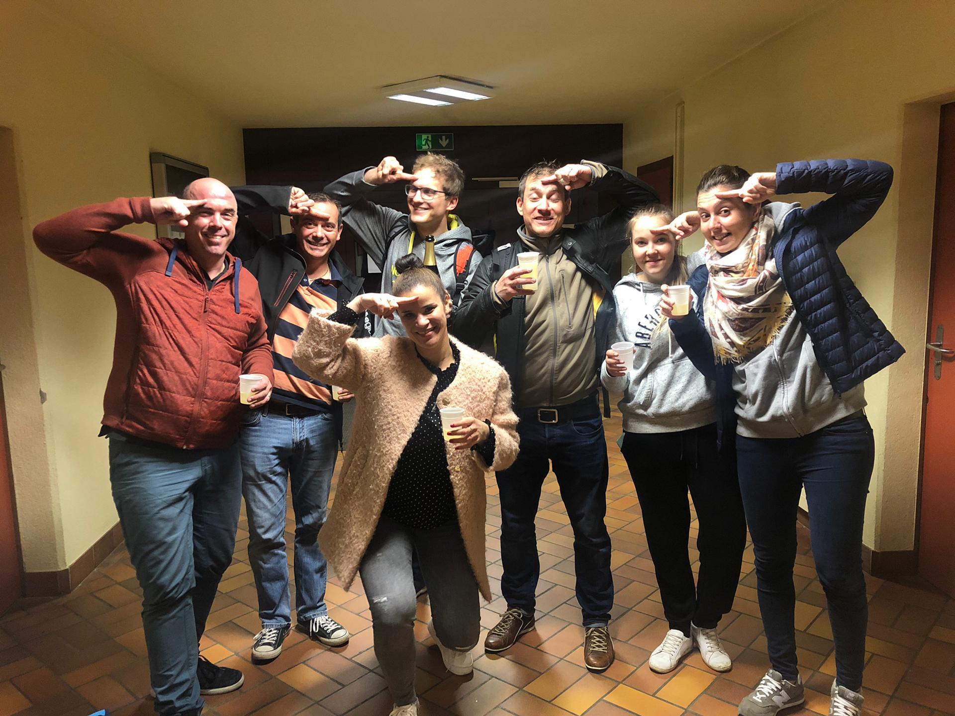 Genève Volley champion genevois en… relax mixte !
