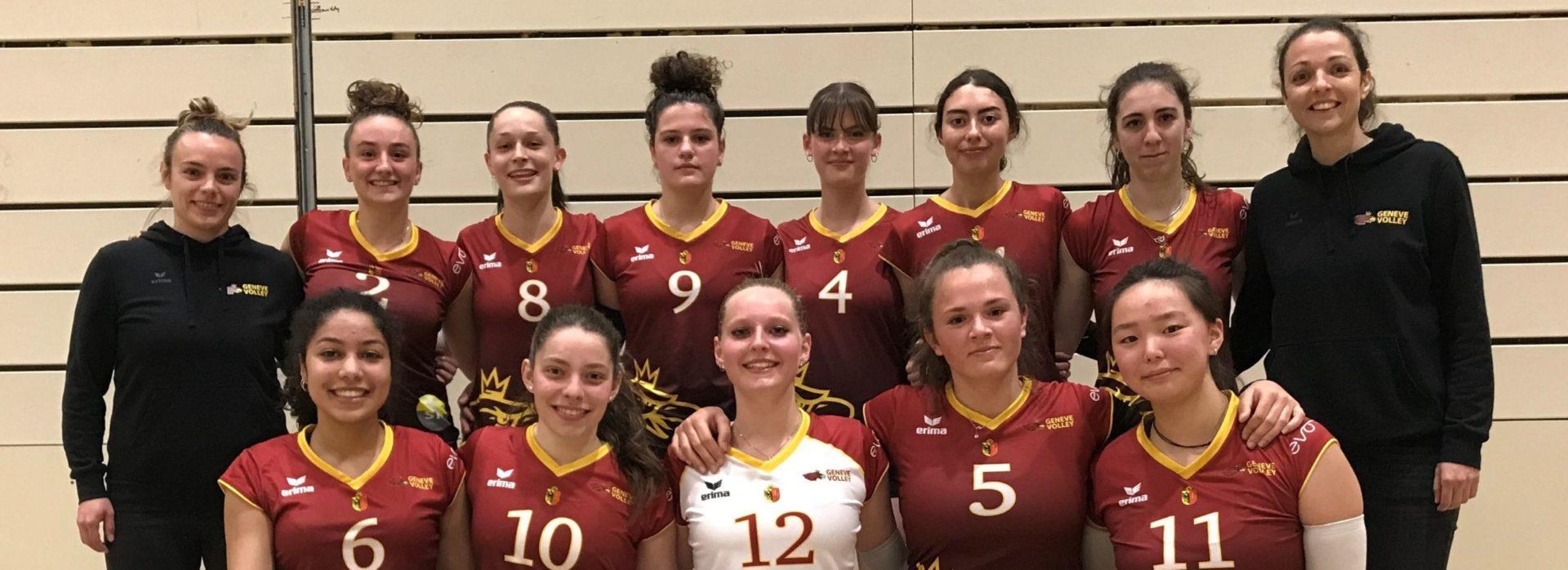 Le Genève Volley qualifié pour les CHS U19 !