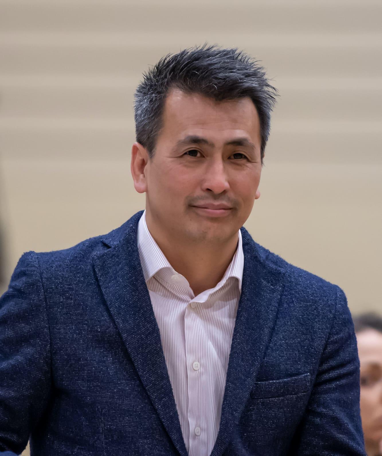 Patrick Tran, président du Genève Volley