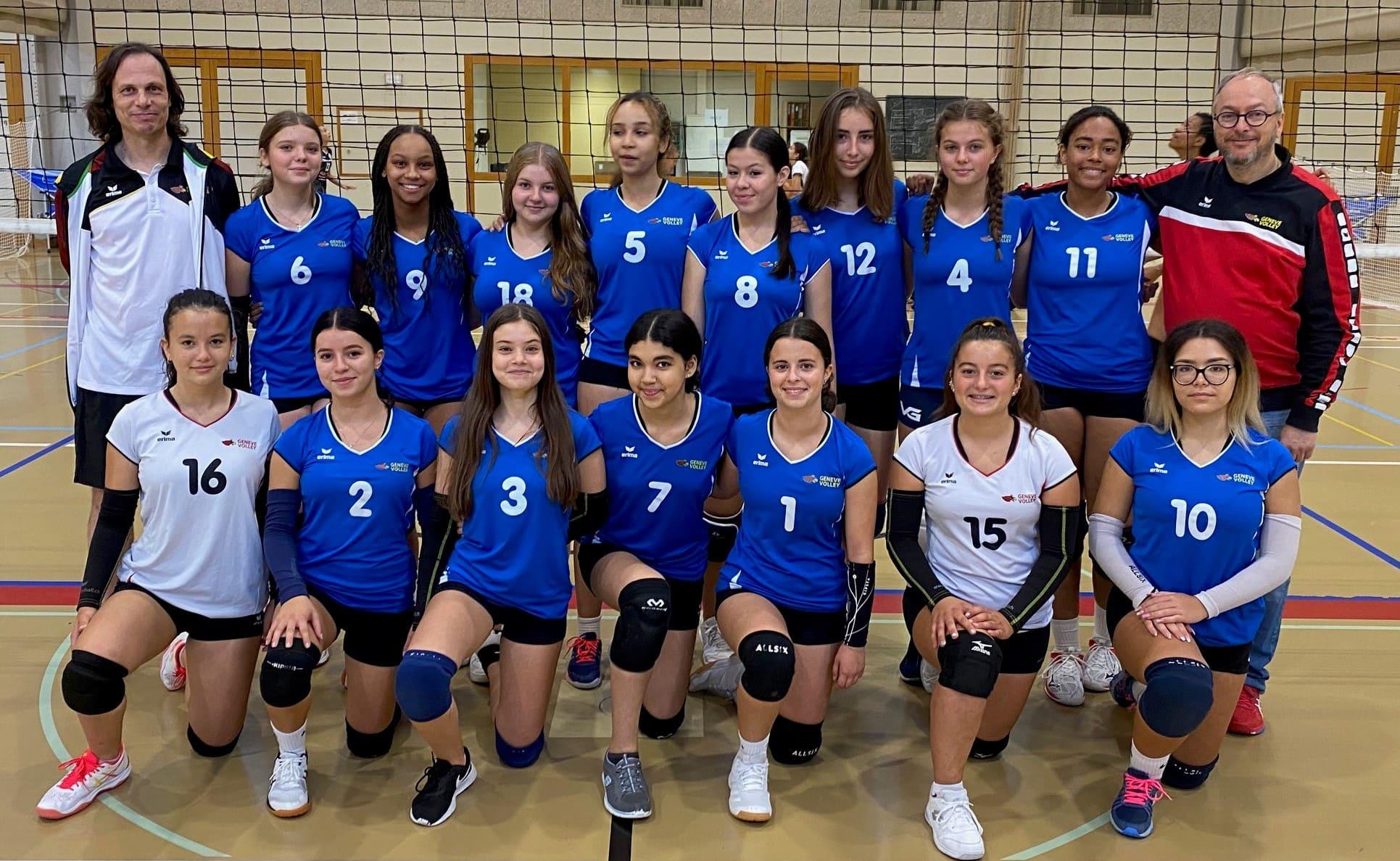 Equipe U172 Genève Volley