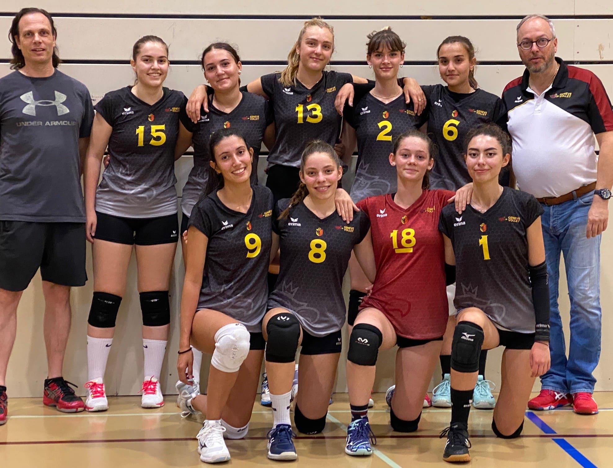 Equipe U23 Genève Volley